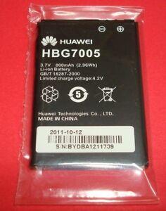 NEW OEM ORIGINAL HUAWEI HBG7005 BATTERY 3.7V 800MAH LI-ION (BIN 22)
