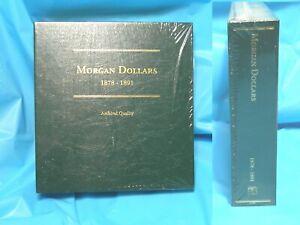 Littleton Album For Morgan Dollars 1878-1891 LCA 8 New  Sealed