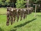 Vintage Clothing US Army Chocolate Chip Uniform Pants Shirts Gulf War nice