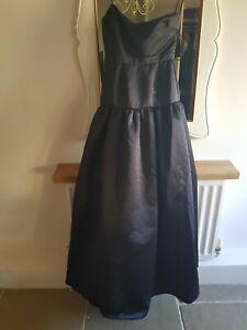 ERIN Black Evening Dress Size US 0 UK 6
