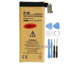 High Capacity Gold 2680MAH Replacement Battery for Apple iPhone 4 & Opening Tool