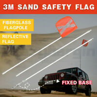 3M High Sand Safety Flag 4WD Towing Offroad Touring 4x4 Simpson Desert Vehicle