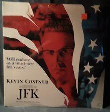 New Factory sealed JFK Laserdisc Widescreen Kevin Costner Oliver Stone