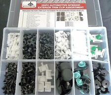 255pc VOLKSWAGEN TRIM CLIP RETAINER PANEL BUMPER BODY FASTENER ASSORTMENT TCA255