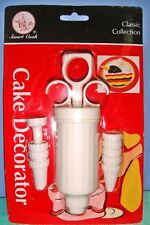 Smart Cook 10 Pc Cake Cupcake Cookie Decorator Icing Injector Syringe Pump Style