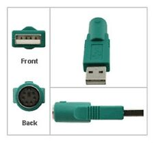 PS2 to USB Converter - Change Female PS/2 Mouse / Keyboard Socket to USB Plug