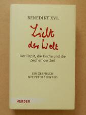 Licht der Welt Benedikt XVI Der Papst die Kirche und die Zeichen der Zeit