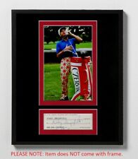 Rodney Dangerfield Matted Autograph & Photo! Back to School! Caddyshack! Rare!