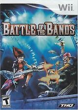 BATTLE OF THE BANDS (Nintendo Wii Music Game) FREE US Shipping