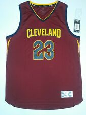 NEW!! NBA FANATICS CLEVELAND CAVALIERS LEBRON JAMES JERSEY SIZE LARGE