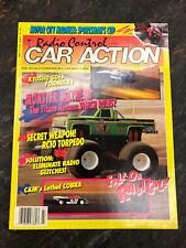 Vintage Radio Control Car Action magazine RCCA July 1989 RC