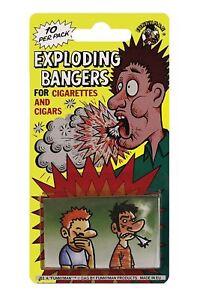 Cigarette Exploding Bangers Novelty Classic Joke Funny Prank Gag Trick Party Fag
