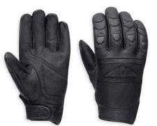 Harley-Davidson® Men's Distressed Full-Finger Leather Gloves, Black. 98324-15VM