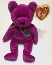 e22424a6980 EXTREMELY RARE - 4 Errors - TY Beanie Babies Millennium Millenium Bear -  RETIRED