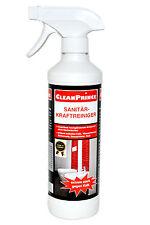 CleanPrince Sanitärreiniger 500 ml Armaturen Waschbecken Kacheln Fliesen Bad