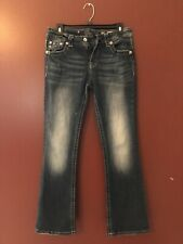 miss me jeans Size 29x31 Mid Rise Easy Boot