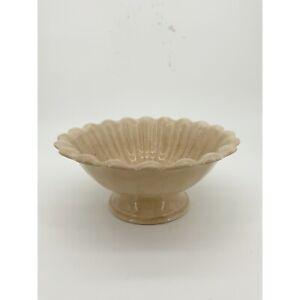Antique 1800's Richard Alcock Ironstone Footed Bowl Compote Burslem England