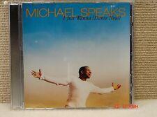 *CD Michael Speaks - I Just Wanna (Dance Now)