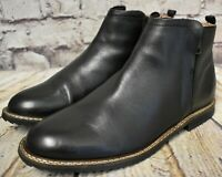Womens Clarks Majolica Poppy Black Leather Zip Up Ankle Boots UK 7 D EUR 41