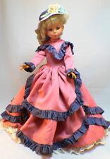 """Vintage Italian Zanini & Zambelli Melanie Doll Italy 23"""" in gown"""
