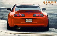 Toyota Supra trd Spoiler de techo estilo OEM, rendimiento Aero, carreras, bodykit V6