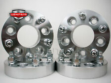"4 WHEEL SPACERS ADAPTERS ¦ 5x4.75 to 5x120 ¦ 1.25"" ¦ 14x1.5 STUDS"