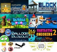 Fantastic+Bubble Blowout+Block+Dessert Storm+BalloonChecker PC Digital STEAM KEY