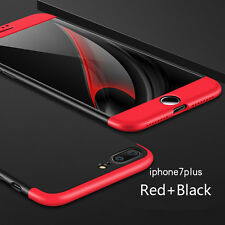 360 Dustproof Rubber Phone Case Accessories Cover For iPhone X 6 6s 7 Plus 5 5s