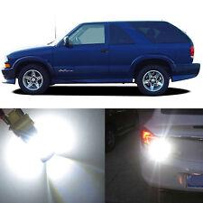 Alla Lighting Back-up Reverse Light 3156 White LED Bulbs for 98~05 Chevy Blazer