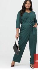 Junarose Teva Three-Quarter Sleeve Jumpsuit Size 20 Rrp £50