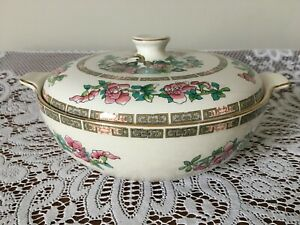 Lord Nelson Indian Tree Covered Serving Dish / Tureen