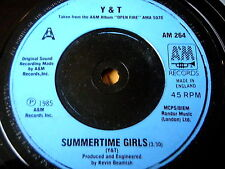 "Y&T - SUMMERTIME GIRLS   7"" VINYL"