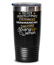 Cute Gift for Granmameirs - Never Underestimate Strong Women Empowerment Grandmo