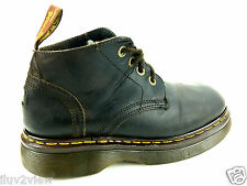 Dr. Martens DM'S  Made in England Men's Brown Boots Size 8 USA.
