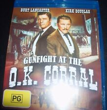 Gunfight At The O.K Corral (Burt Lancaster) (Australia Region B) Bluray – New