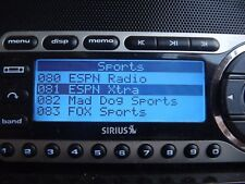 SIRIUS ST4 Starmate 4 XM  radio receiver ONLY ACTIVE LIFETIME  SUBSCRIPTION