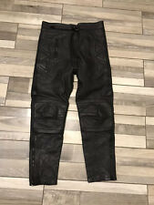 Akito Leather Motorbike motorcycle Biker  Trousers size 14 waist 32