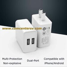 Double Port AC Wall Charger Adapter USB 5V 2A For iPad iPhone Android US