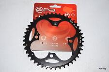 Plateau Vélo VTT - GPA CYCLE 10444 - Noir/Entr. 104mm/44 Dts/4 Br. - NEUF