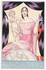 PUBBLICITA' 1923 MAGNESIA POLLI DONNA MAMMA BAMBINO MEDICINA  FARMACIA R.VENTURA
