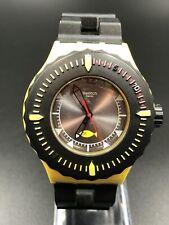 2014 Swatch Bumble Dive watch SUUJ100 Quartz