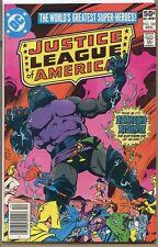 Justice League of America 1960 series # 185 very fine comic book