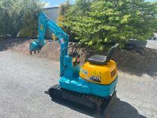 Used Kubota Mini Excavator K005 30805 528 Hrs Diesel Engine Very Good Condition
