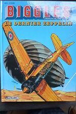 BD biggles n°7 le dernier zeppelin EO 1995 TBE aviation RAF loutte