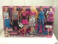 2011 Barbie Fashionistas Ultimate Fashions Accessory 5 Pack