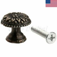 Unique Round Knob Pull Handle For Jewelry Box Cabinet Cupboard Drawer Dresser 1x