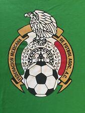 M green FEDERACION MEXICANA DE FUTBOL ASOC. LOGO t-shirt by ADIDAS