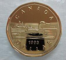$1.00 1993 Canadian Proof Loonie