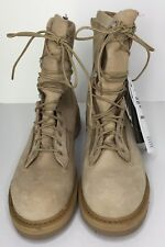 Rocky Army Combat Goretex Winter Boots Size 9.5R Brown/Khaki