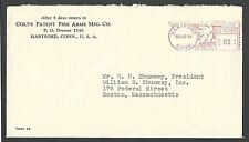 1944 COVER HARTFORD CT COLT FIREARMS GUNS MFG CO
